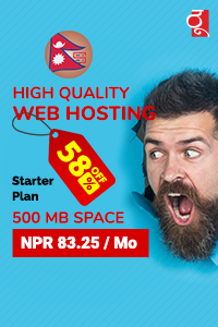 High Quality Website Hosting Solution in Nepal